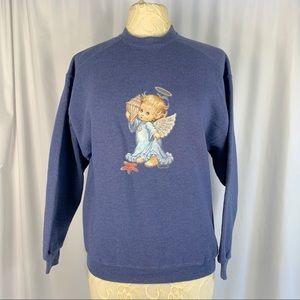 VINTAGE * Beach Angel Sweater
